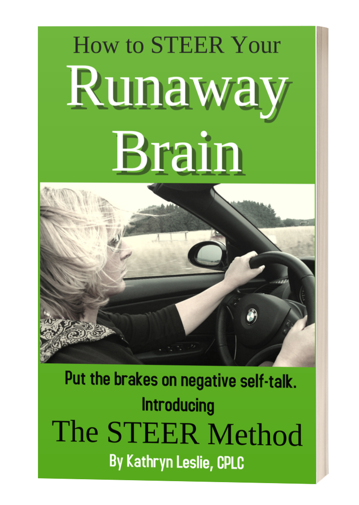 Book Cover for STEER Your Runaway Brain